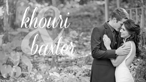 Khouri & Baxter Wedding HIGHLIGHT REEL